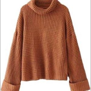 Goodnight Macaroon Rhett's Cognac Sweater